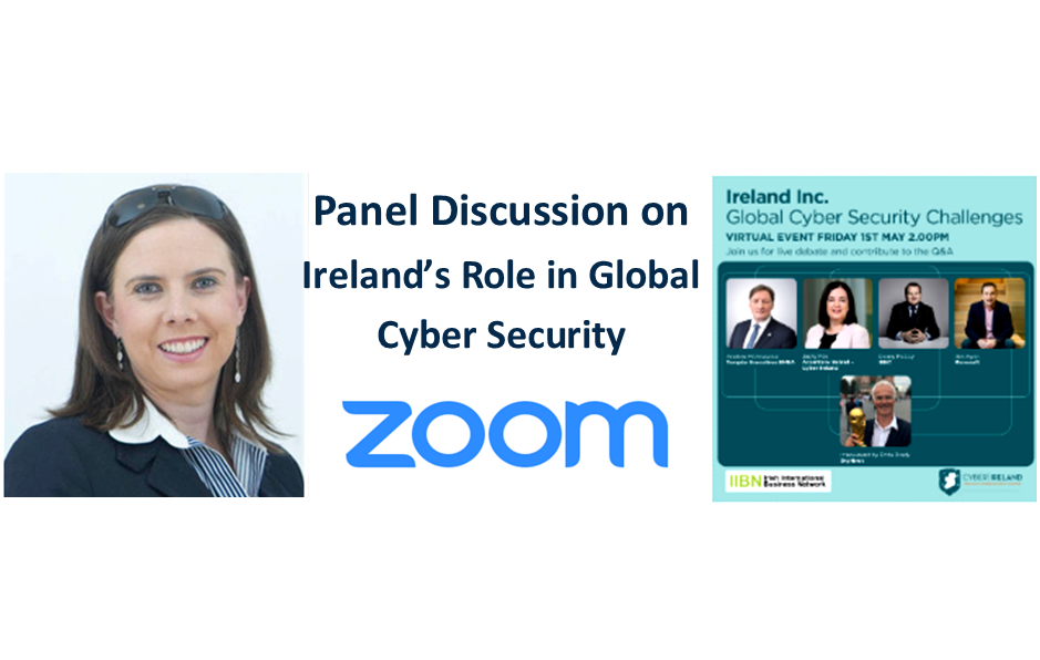 Susan HayesCulleton - My 14 Key Takeaways from Panel Discussion on Ireland's Role in Global Cyber Security