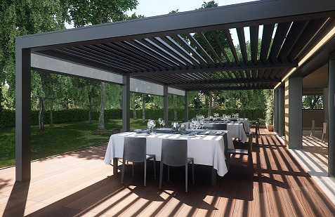 Anyone for a Chilled Glass of Chardonnay on the Pergola?