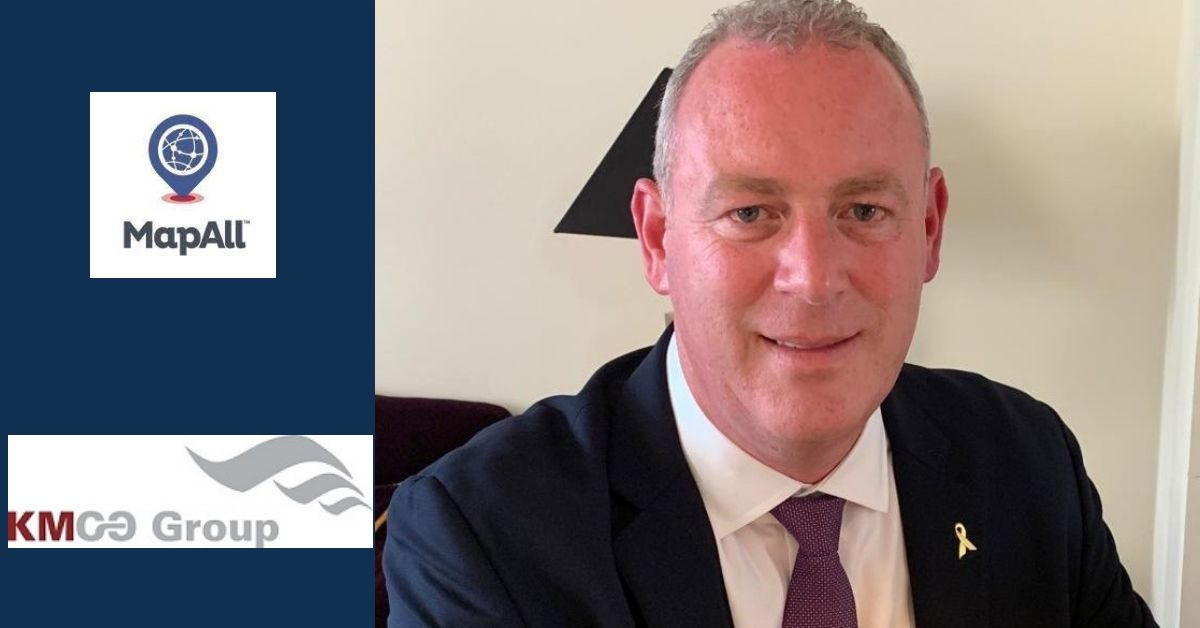 Interview with Kieran Hynes CEO of KMCO Group and MapAll Holdings